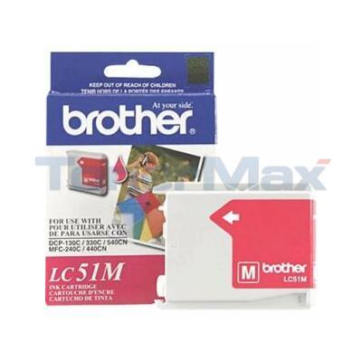 BROTHER DCP-130C INK CARTRIDGE MAGENTA